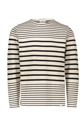 Norse Projects Godtfred Classic Compact LS - Ecru