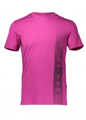 Hugo Boss Graphic RN T-Shirt - Bright Pink