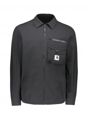 Carhartt WIP Hayes Shirt Jacket - Black