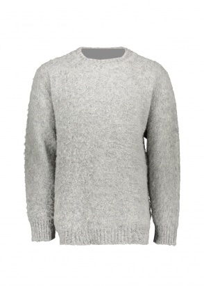 Shetland Woollen Co.  Heavy Pullover - Steel