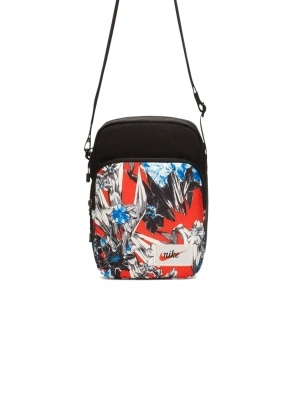 Nike Apparel Heritage Floral Bag Black/Team