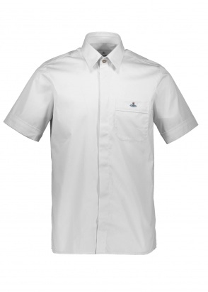 Vivienne Westwood Mens Hidden Button Shirt - White