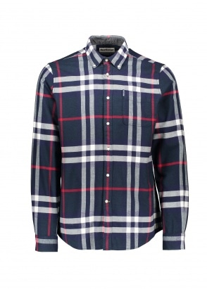 Barbour High Check 18 TF Shirt - Navy