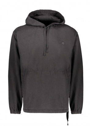 Carhartt WIP Hooded Carson Sweatshirt - Black