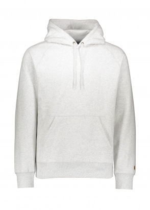 Carhartt WIP Hooded Chase Sweat - Ash Heather