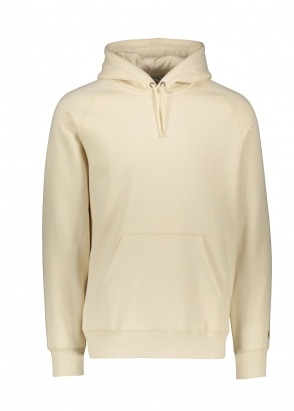 Carhartt WIP Hooded Chase Sweat - Flour / Gold