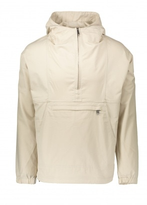 Nanamica Hooded Pullover Jacket - Light Beige