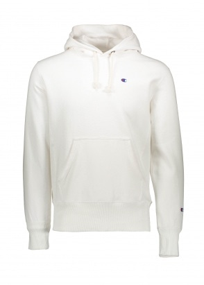Champion Hooded Sweatshirt - White