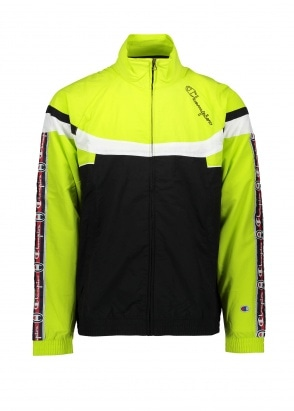 Champion Horizontal Tri Colour Track - Black / Lime