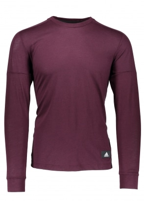 Adidas Originals Apparel ID Longsleeve - Burgundy