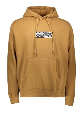 Obey Inside Out Hoodie Dusty T