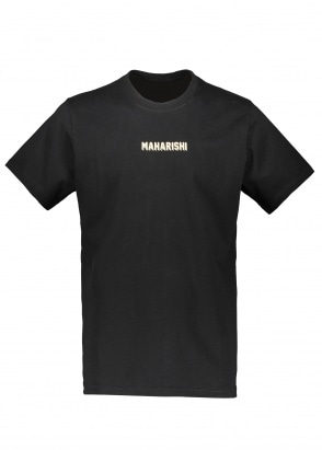 Maharishi Internationale Print T-Shirt - Black