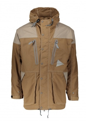 And Wander  Jacket - Brown