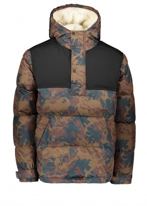 Wood Wood Jackson Glacier Jacket - Hot Ember