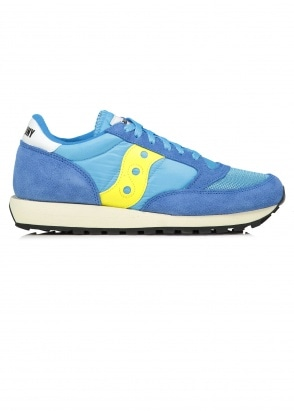 Saucony Jazz Original Vintage - Yellow / Blue