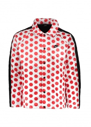 Nike Apparel JDI Synthetic-Fill Jacket - White / Red