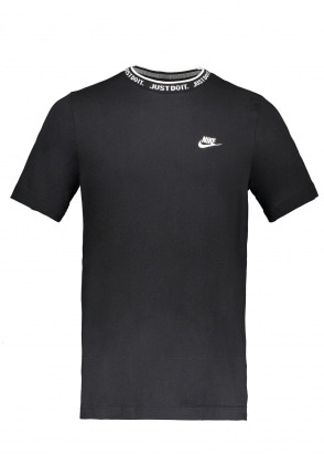 Nike Apparel JDI Top SS Knit - Black / White