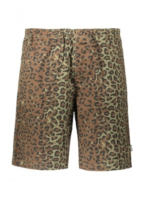 Stussy Jungle Camo Beach Short - Olive