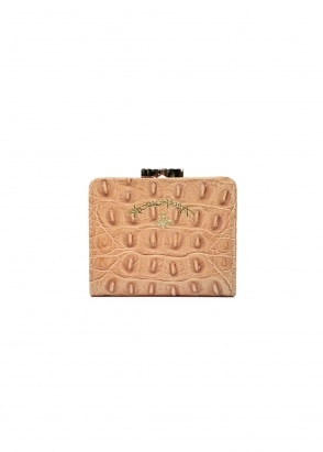 Vivienne Westwood Accessories Kelly Wallet Coin Pocket - Beige