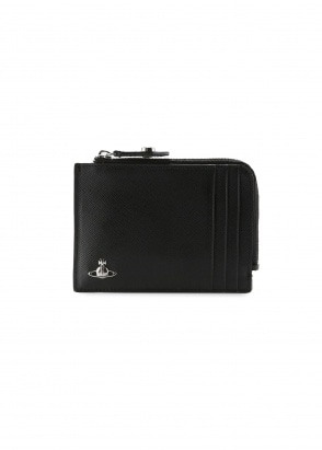 Vivienne Westwood Accessories Kent Zip Credit Card Holder - Black