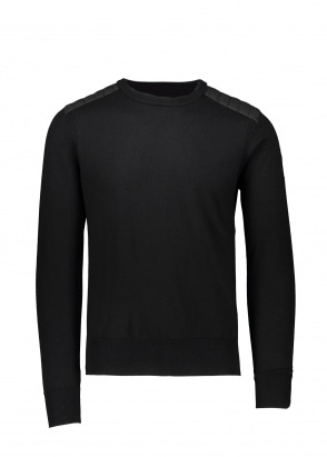 Belstaff Kerrigan Crew Neck - Black