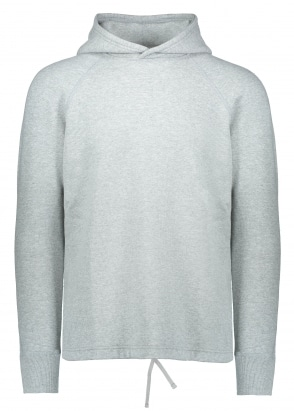 Reigning Champ Knit Mesh Hoodie - Heather Grey