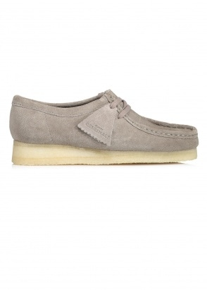 Clarks Originals Ladies Wallabee Suede - Grey