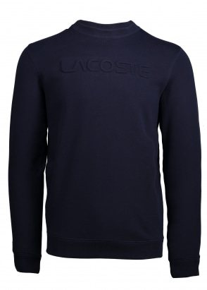 Lacoste Lettering Sweat - Navy
