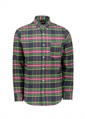 NN07 Levon Shirt - Multi Check