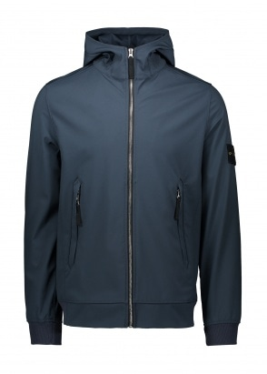 Stone Island Light Softshell-R - Marine Blue