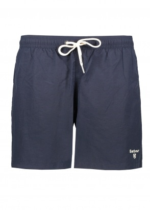 "Barbour Logo Shorts 5"" - Navy"