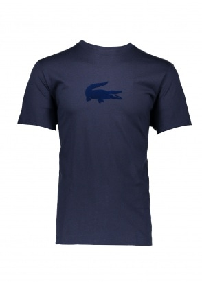 Lacoste Logo T-Shirt - Navy Blue