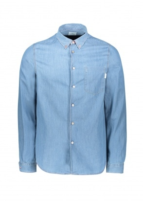 Paul Smith LS BD Tailored Shirt - Medium Wash
