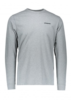 Patagonia LS Responsibili-Tee - Gravel Heather