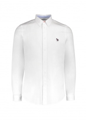 Paul Smith LS Tailored BD Shirt - White