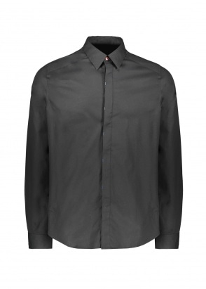 Paul Smith LS Tailored Fit Shirt - Black