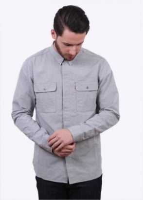 Levi's Red Tab LS Workshirt - Steel