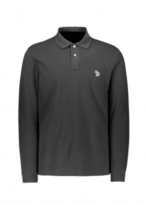 Paul Smith LS Zebra Polo - Black