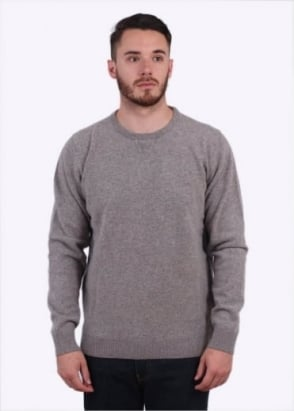 Sunspel Luxury Sweater - Marble