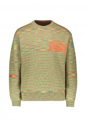 Aries  Magic Eye Temple Knit - Orange