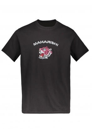 Maharishi Tiger Invasion T-Shirt - Black