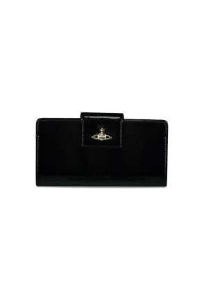 Vivienne Westwood Accessories Margate CC Wallet - Black