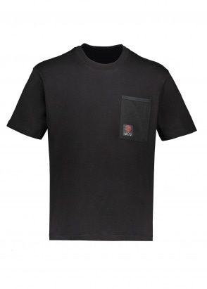 McQ by Alexander McQueen Otis Pocket Tee - Darkest Black