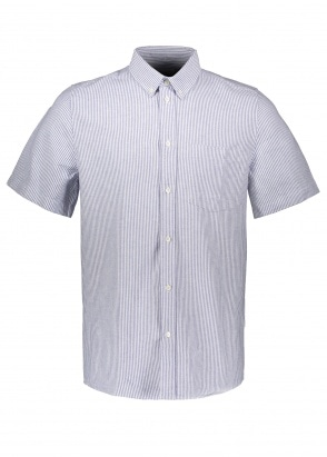 Wood Wood Michael Oxford Shirt SS - Blue