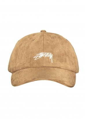 Stussy Microfiber Low Pro Cap - Brown