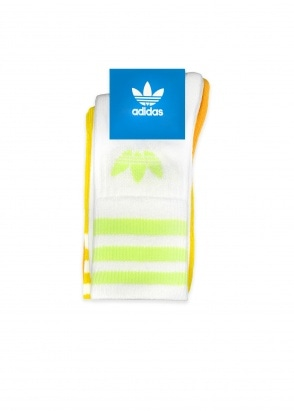 adidas Originals Apparel Mid Cut Crew Sock Misc 5.5-8