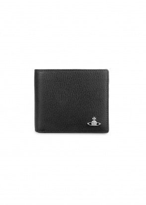 Vivienne Westwood Accessories Milano Billfold Wallet - Black