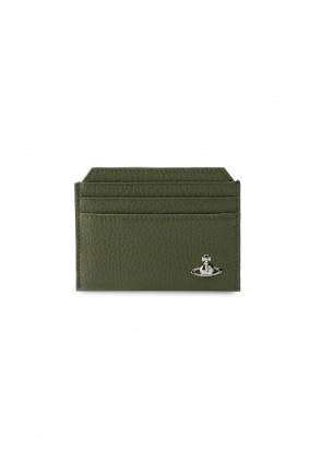 Vivienne Westwood Accessories Milano Slim Card Holder - Green