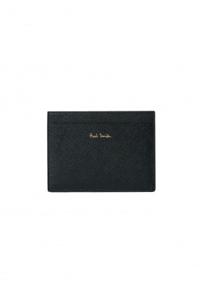 Paul Smith Mini Stripe Card Holder - Green