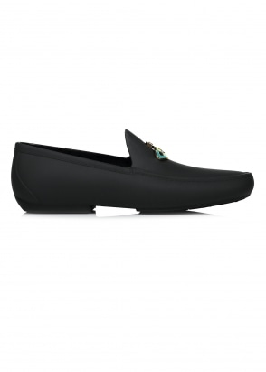 Vivienne Westwood Mens Mocassin Orb Shoes Black